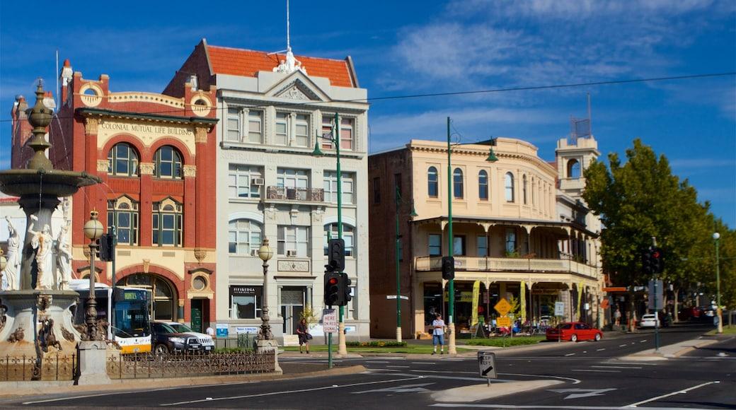 Bendigo featuring street scenes