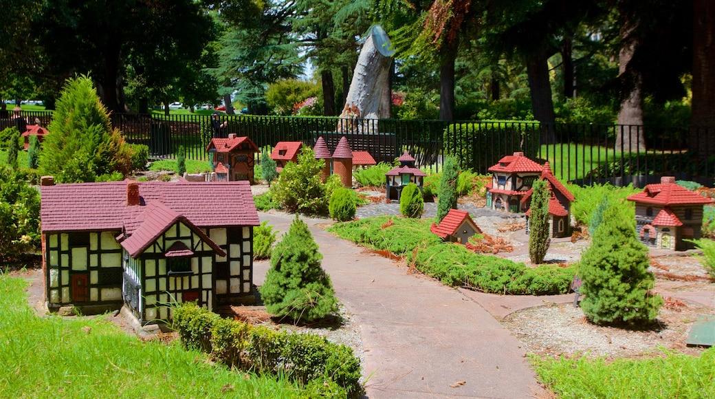 Fitzroy que incluye un parque