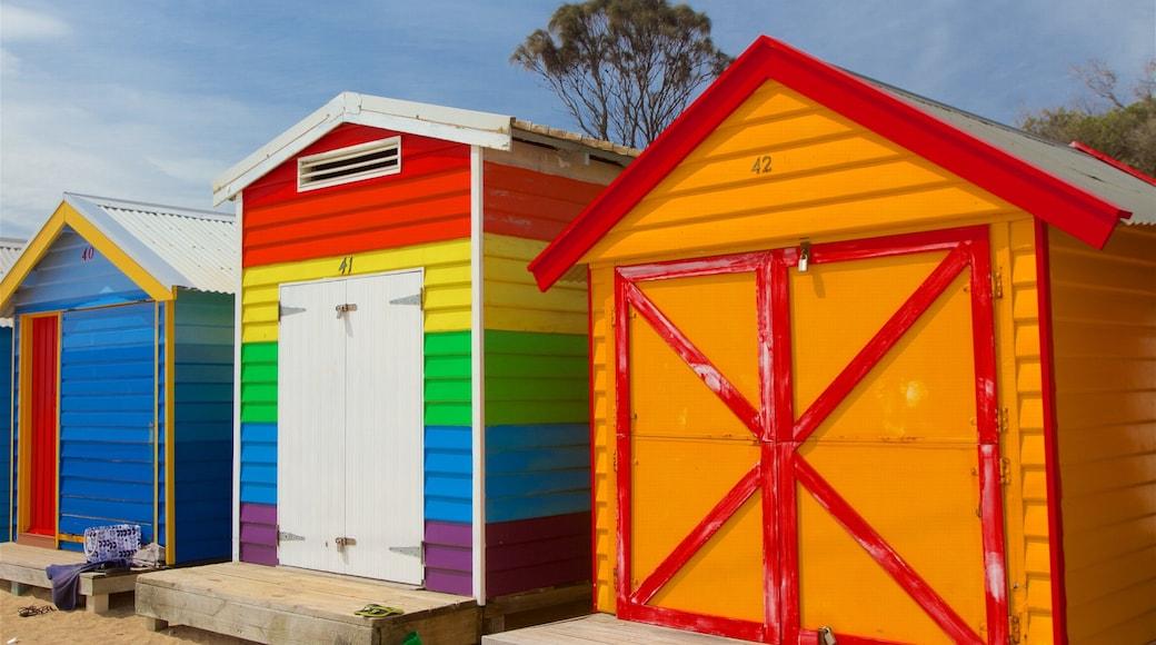 Brighton featuring a house and a sandy beach