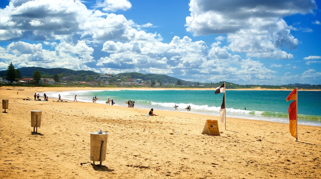 Terrigal featuring a bay or harbor and a beach