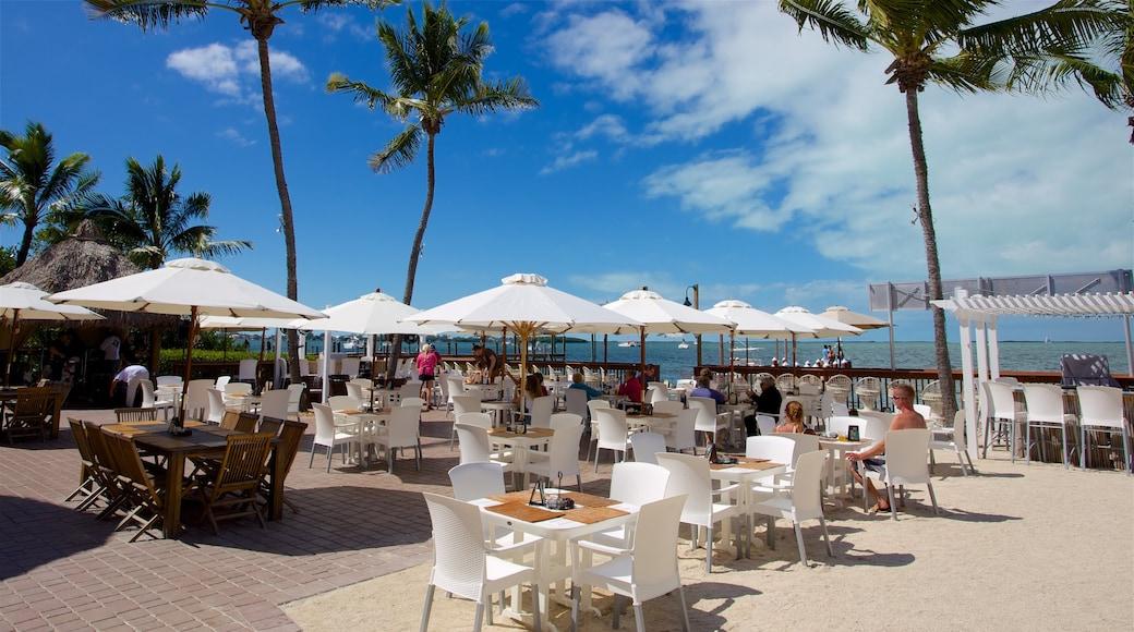 Key Largo mit einem Essen im Freien und Café-Lifestyle