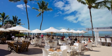 Key Largo which includes outdoor eating and café lifestyle