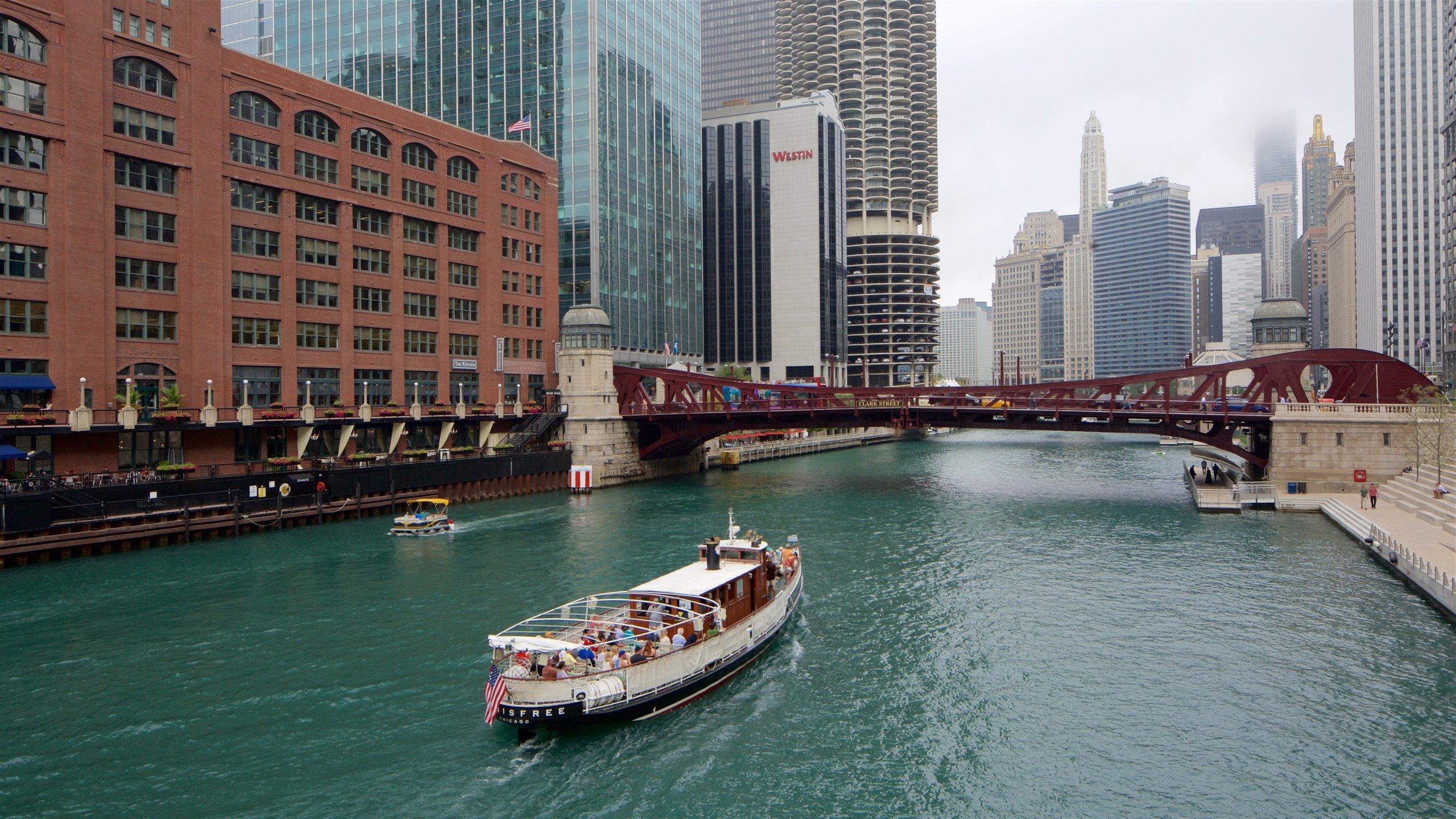 Bridgehouse and Chicago River Museum, Chicago, Illinois, Verenigde Staten
