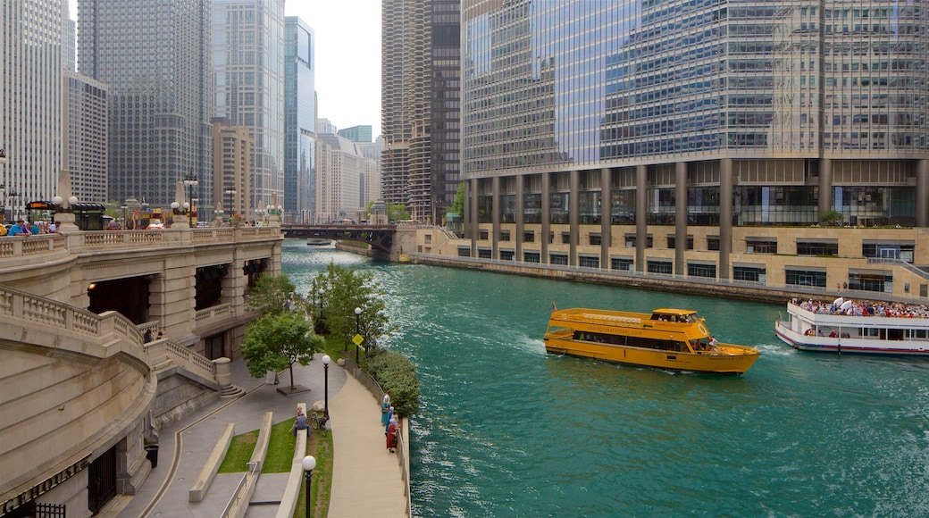 The Loop - Downtown which includes a river or creek