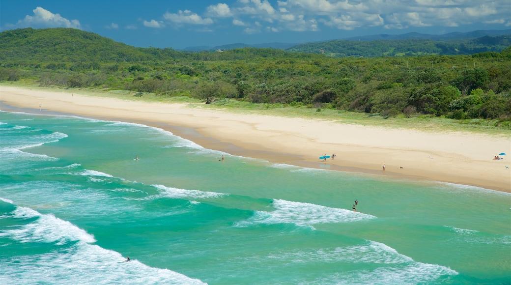 Tweed Heads que incluye una playa de arena