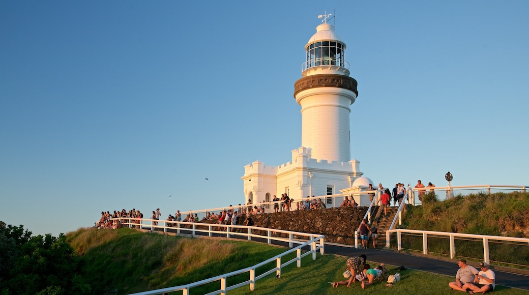 Cape Byron Lighthouse featuring a lighthouse