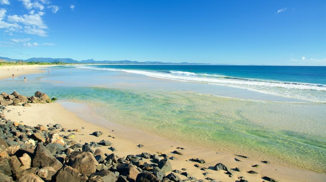 Byron Bay ofreciendo una playa