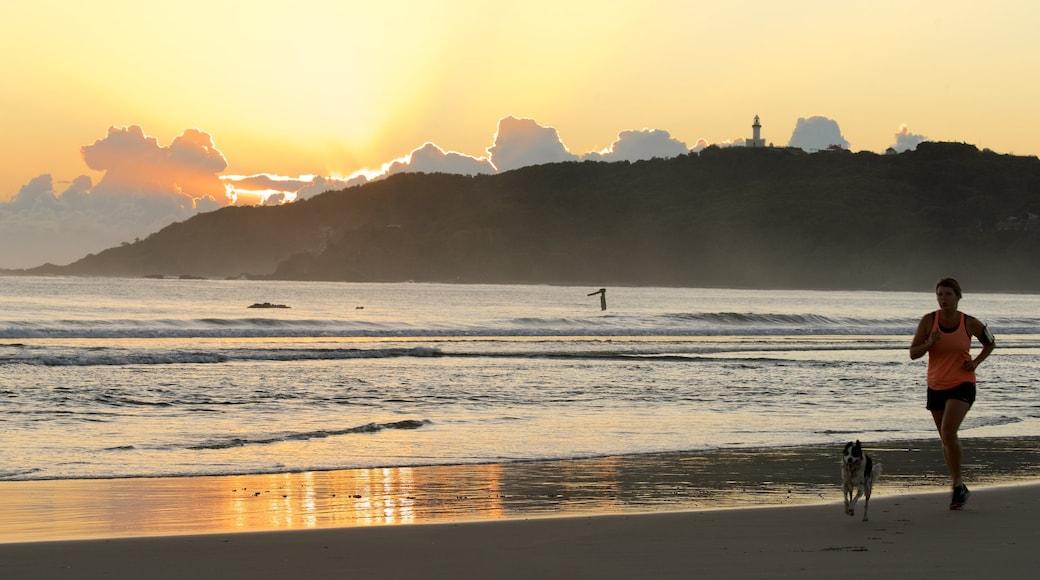 Byron Bay ofreciendo una playa de arena
