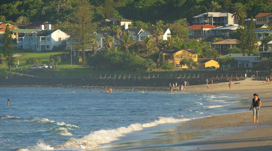 Lennox Head ofreciendo una playa de arena
