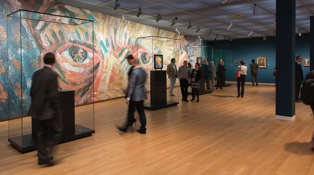 Van Gogh-museet presenterar interiörer
