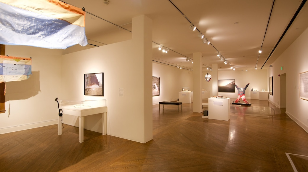 San Jose Museum of Art showing interior views