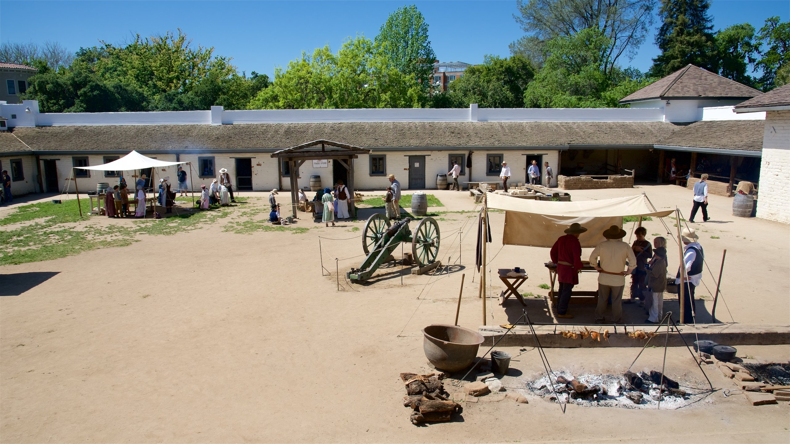 Fort Sutter State Historical Park, Sacramento, California, United States of America