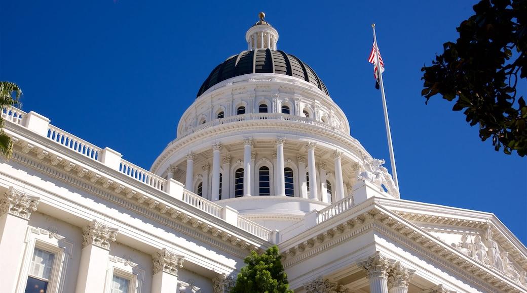 California State Capitol das einen historische Architektur