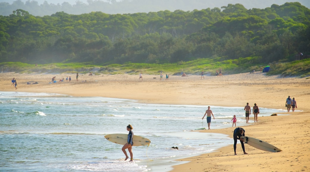 Main Beach Recreation Reserve which includes surfing and a beach