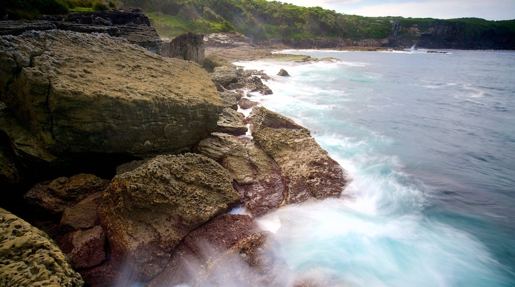Booderee National Park which includes surf and rugged coastline