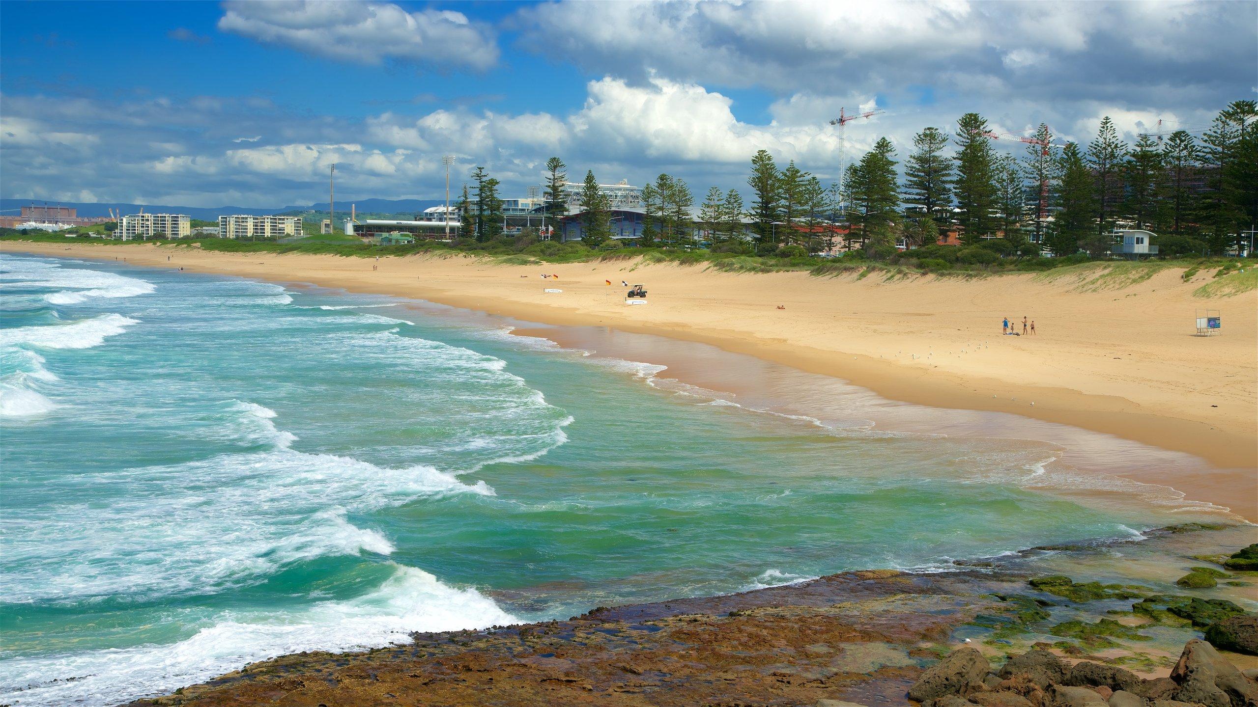 Wollongong City Beach, Wollongong, New South Wales, Australië