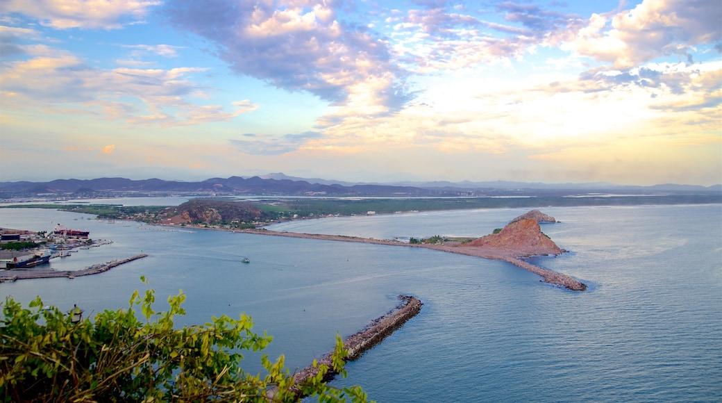 México ofreciendo una bahía o puerto