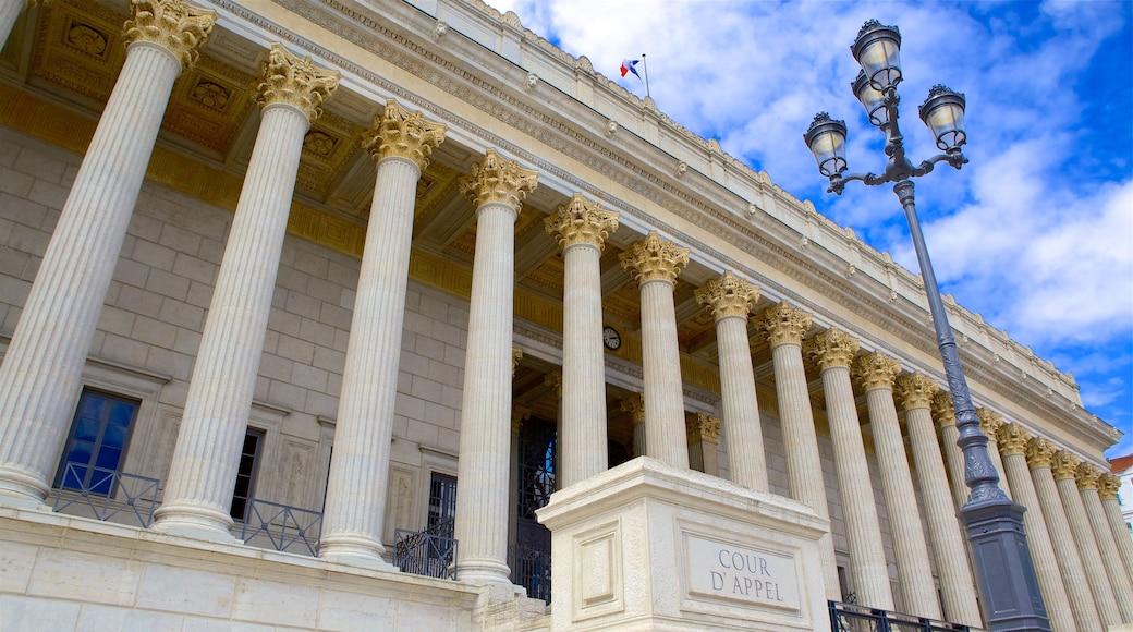 Lyon das einen historische Architektur