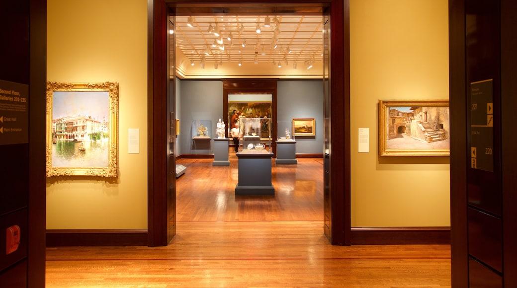 신시내티 미술관 을 보여주는 예술 과 실내 전경