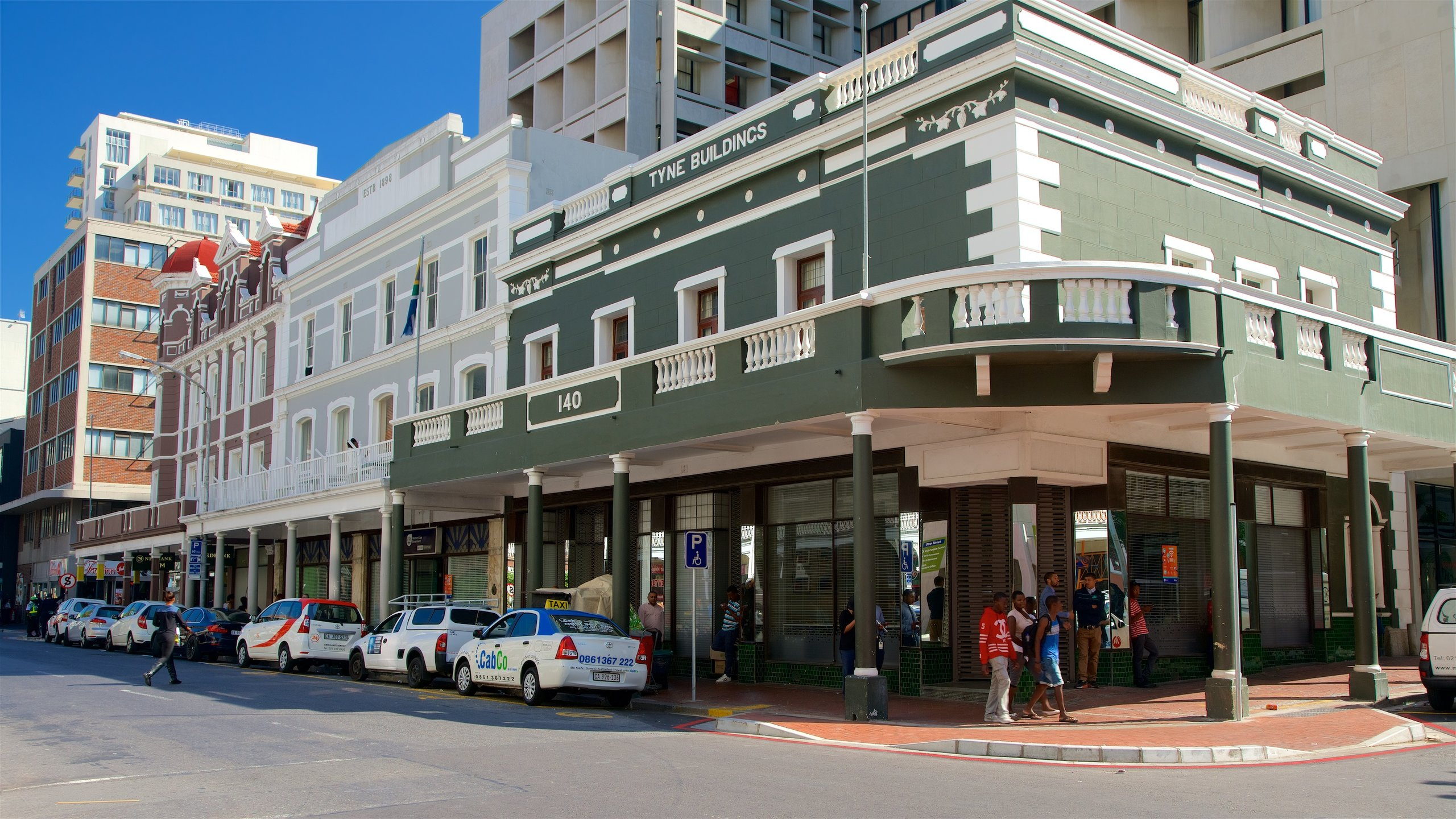 Cape Town City Centre, Kaapstad, Westkaap (provincie), Zuid-Afrika
