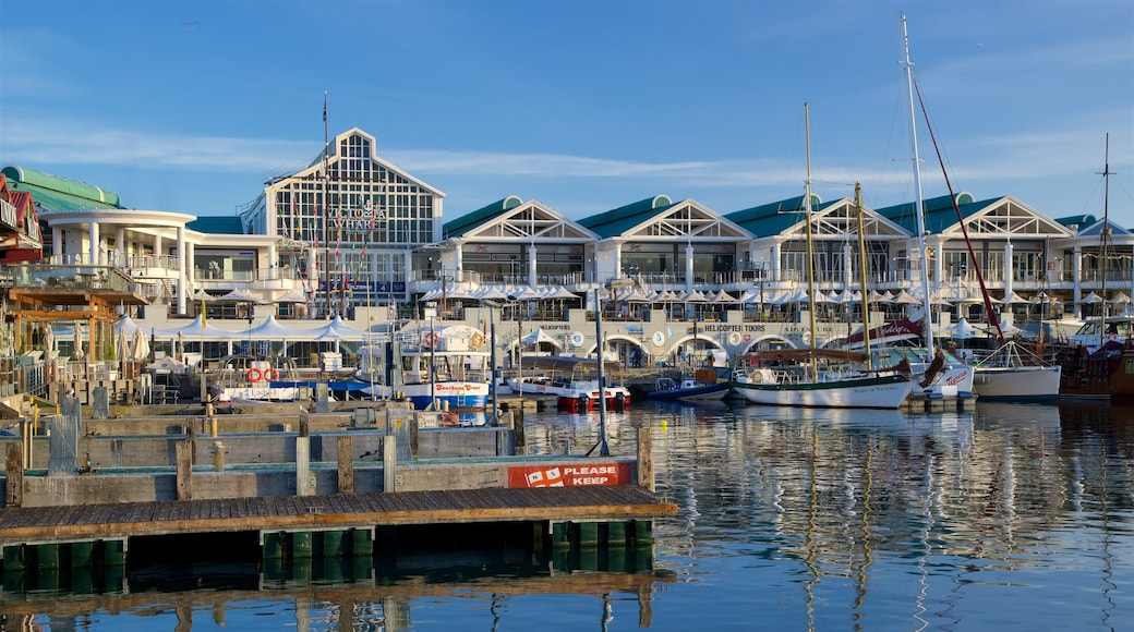 Victoria and Alfred Waterfront featuring a marina