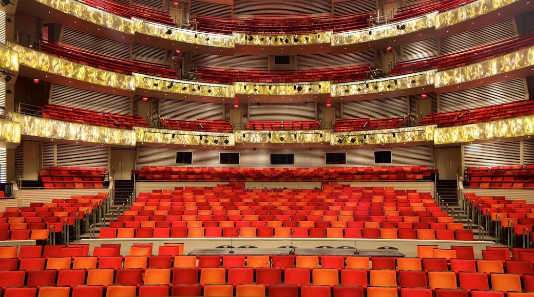 Kauffman 表演藝術中心 其中包括 內部景觀 和 劇場環境