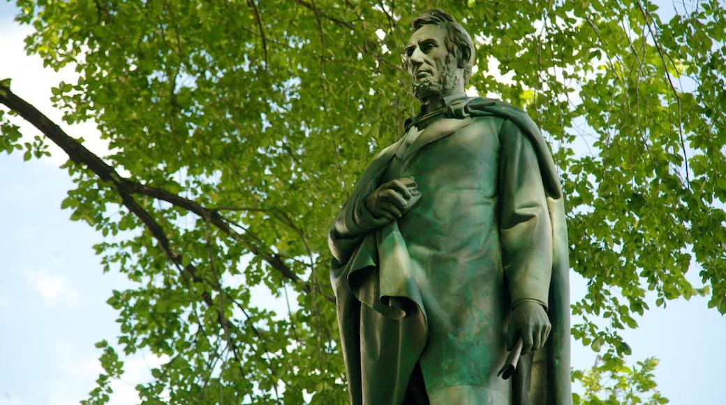 Union Square caratteristiche di arte urbana e statua o scultura