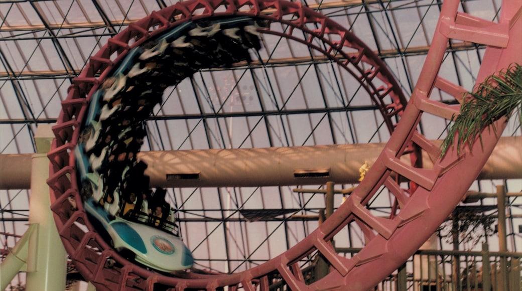 Adventuredome Theme Park featuring rides