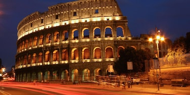 Italy featuring heritage architecture, a city and night scenes