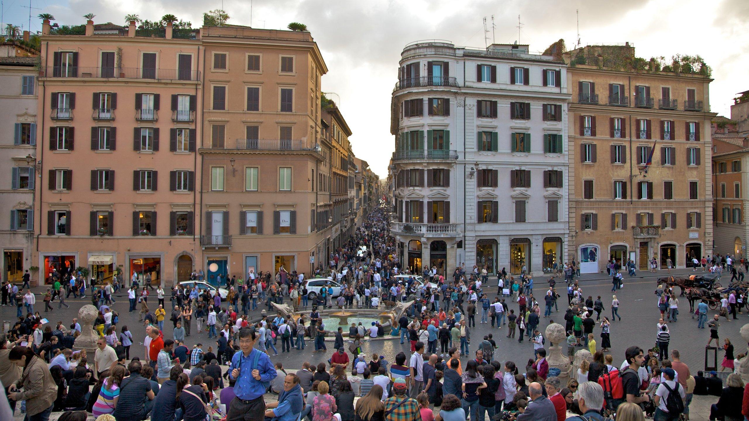 Rione IV Campo Marzio, Rome, Lazio, Italy