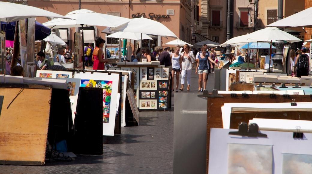 Piazza Navona caratteristiche di città, shopping e strade