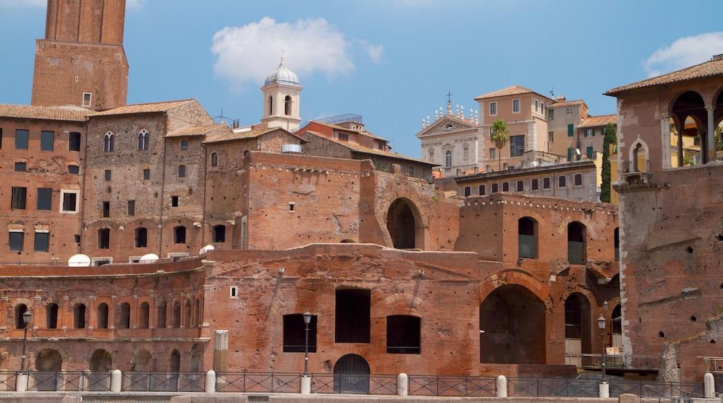 Piazza Venezia qui includes ville, patrimoine architectural et château ou palais
