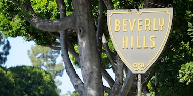 Beverly Hills - West Hollywood caratteristiche di segnaletica