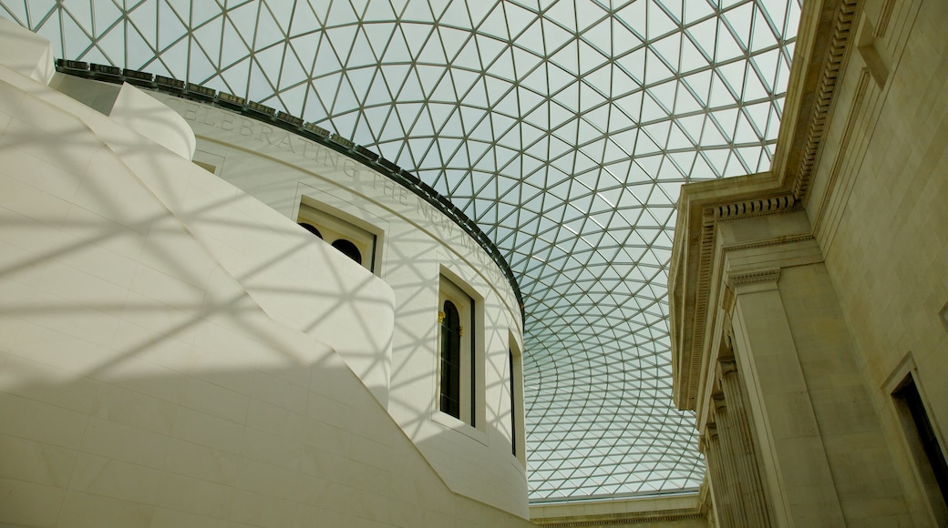 The British Museum featuring interior views