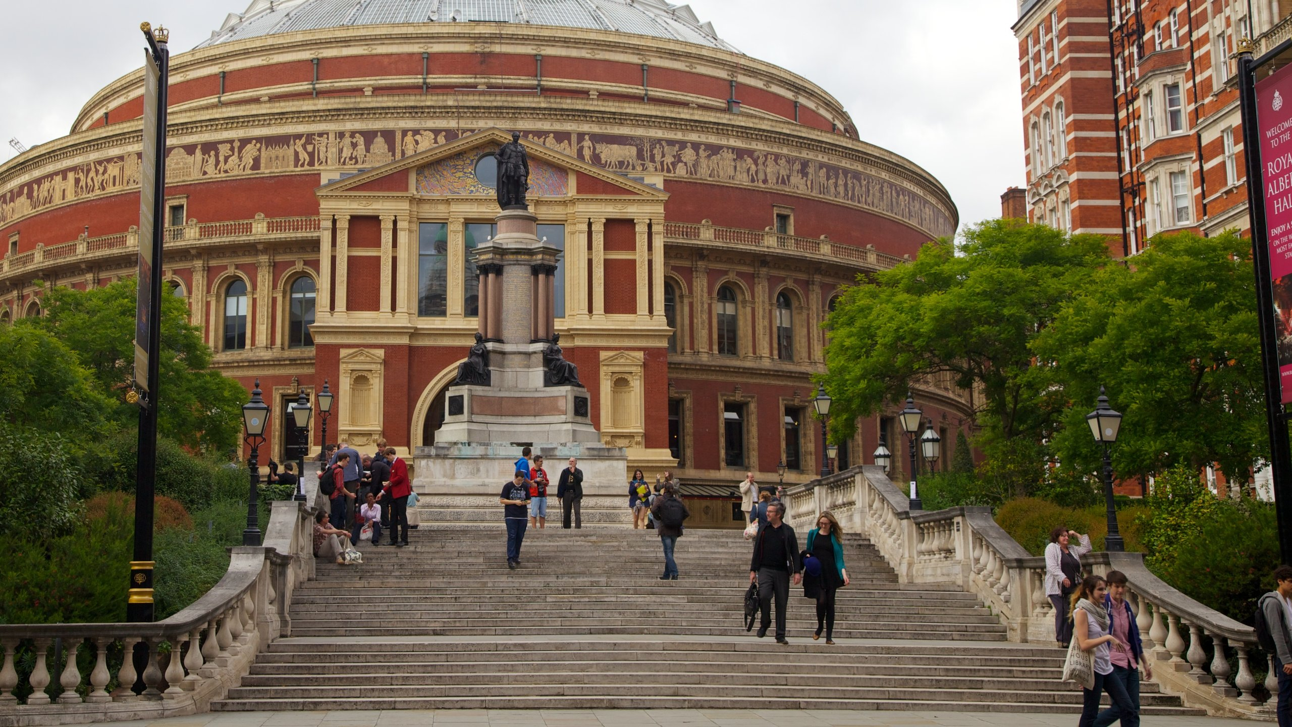 Royal Albert Hall, London, England, Großbritannien