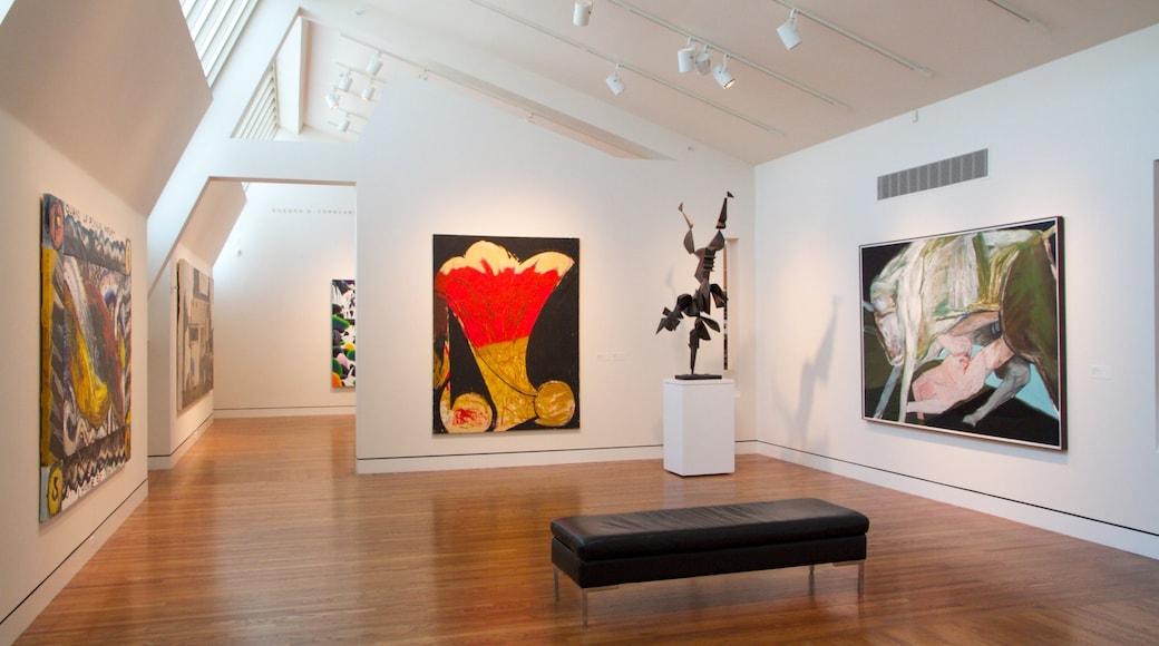 Portland Art Museum showing art and interior views