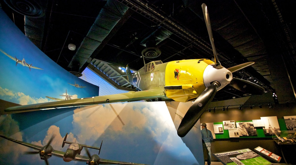 Museum of Flight featuring aircraft and interior views