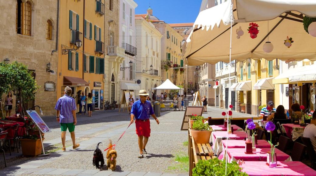 Piazza Civica ซึ่งรวมถึง สัตว์น่ากอดหรือสัตว์เป็นมิตร ตลอดจน ผู้ชาย
