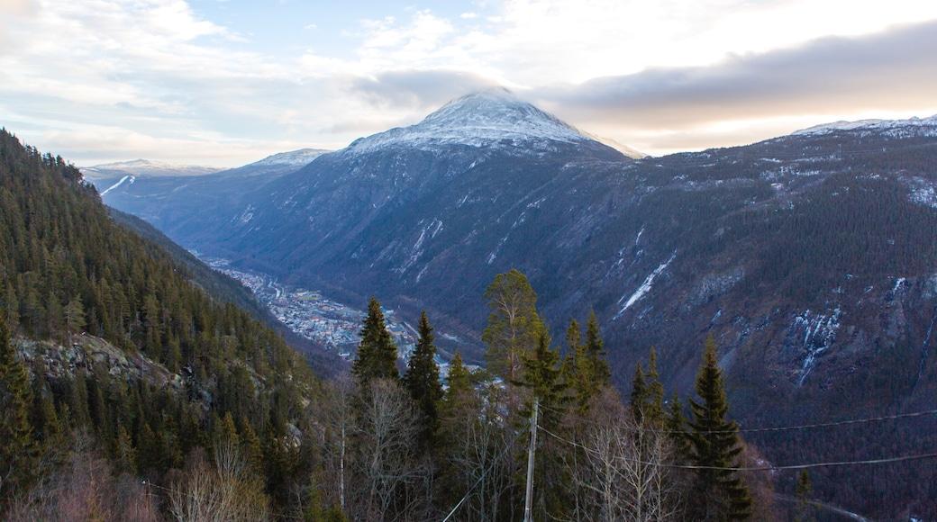 Rjukan das einen Landschaften, ruhige Szenerie und Berge