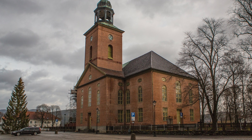 Kongsberg caratteristiche di architettura d\'epoca