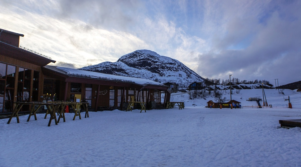 Hovden which includes snow