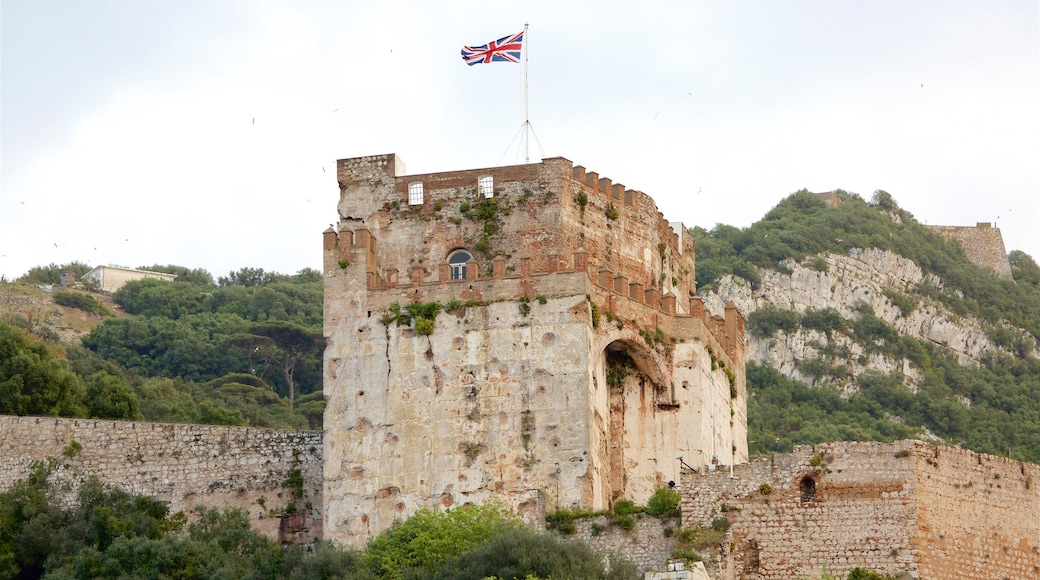 Moorish Castle showing heritage architecture and tranquil scenes