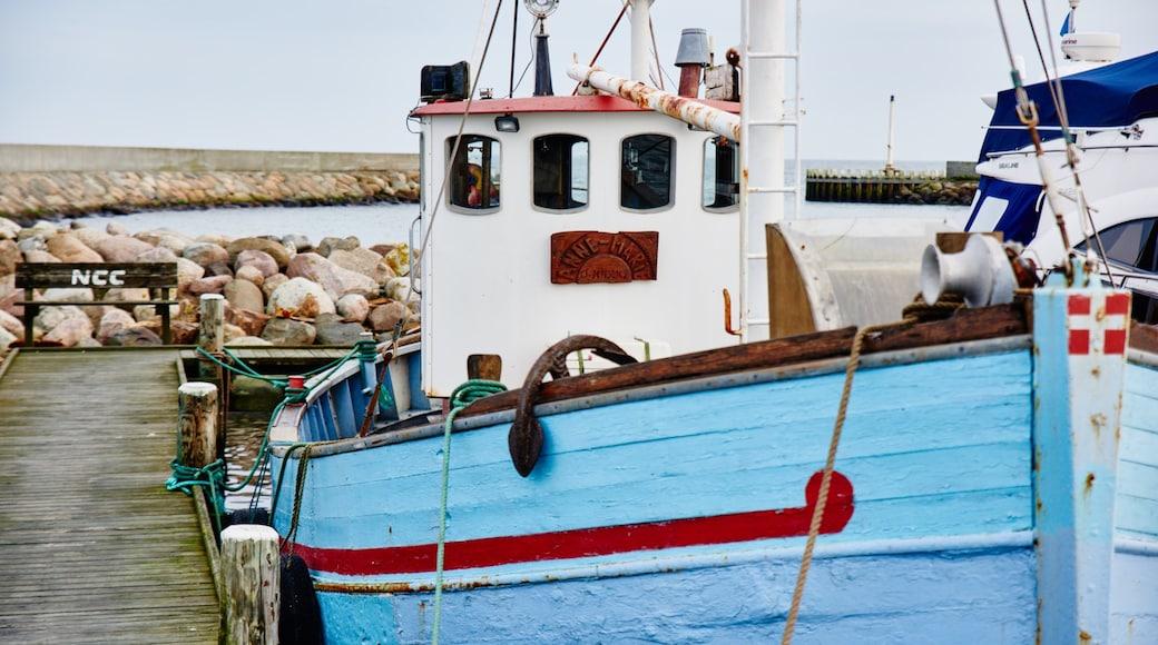 Øster Hurup welches beinhaltet Marina