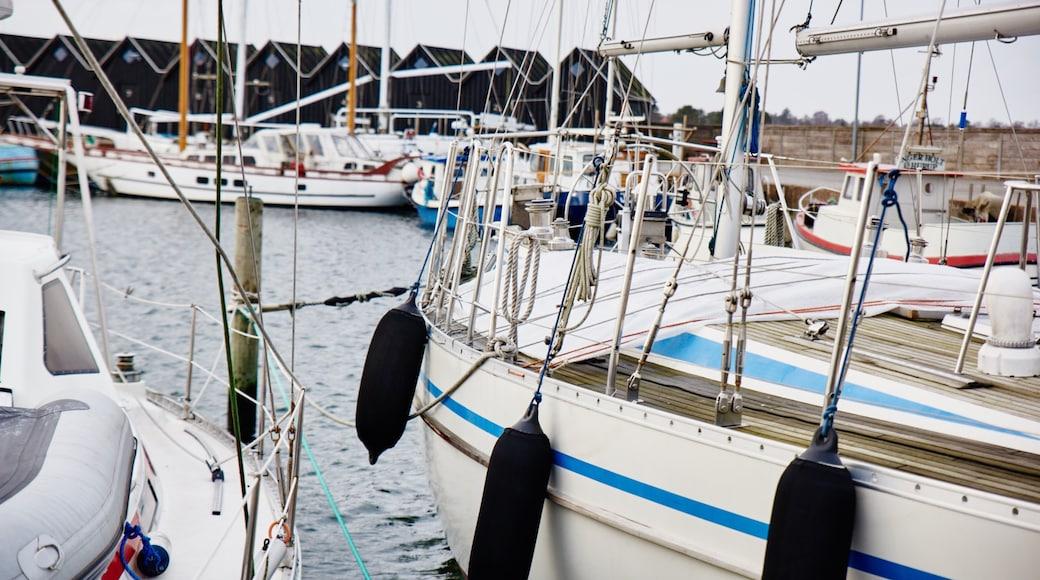 Øster Hurup mit einem Marina