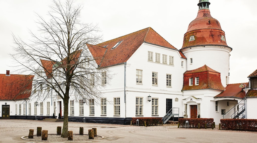 Nordborg mit einem historische Architektur und Haus