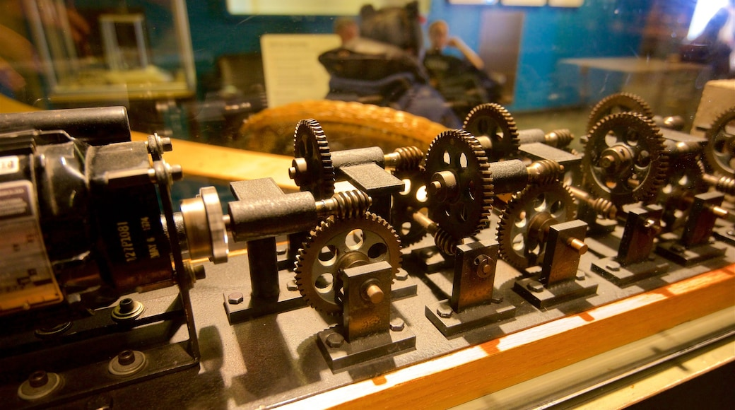 Exploratorium mit einem Innenansichten