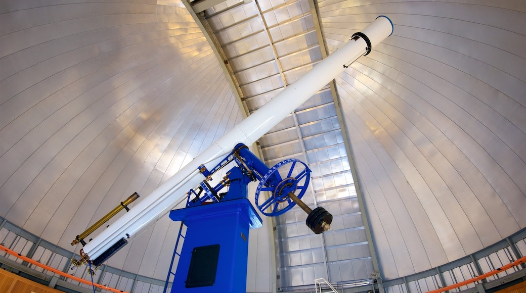 Chabot Space and Science Center showing interior views and an observatory