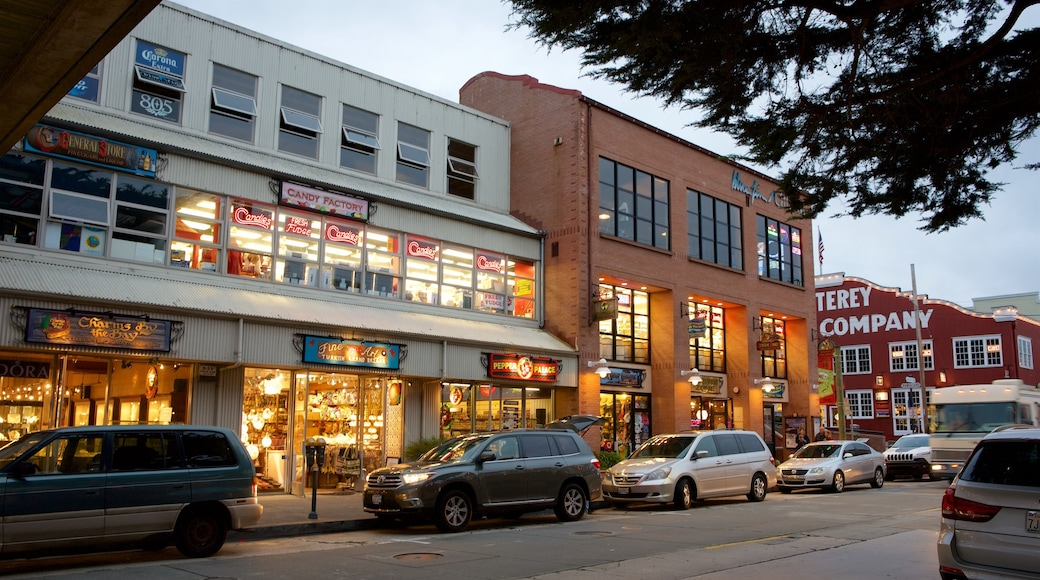 Cannery Row which includes shopping