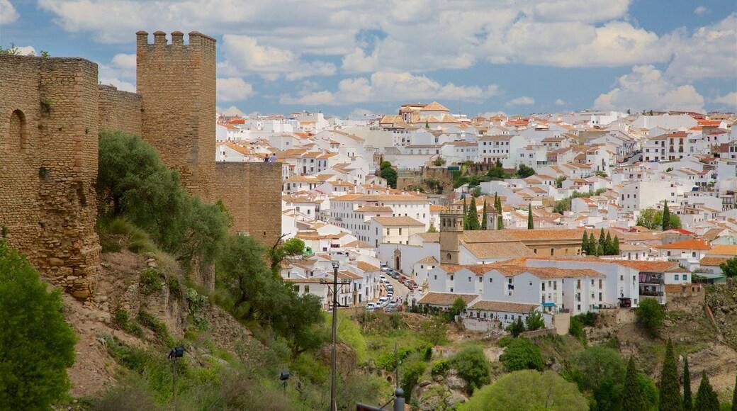 Ronda caratteristiche di vista del paesaggio e piccola città o villaggio