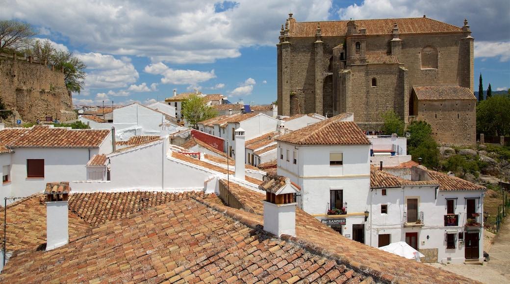 Málaga bevat een klein stadje of dorpje